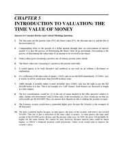 CHAPTER 5financesolution