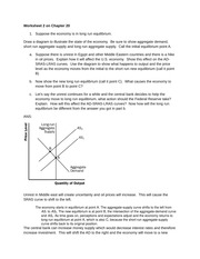 Worksheet 2 Questions and Answers (Ch 20)
