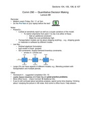 Problem solving and c programming lecture notes