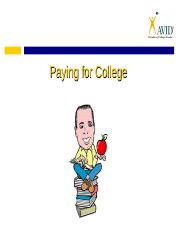 paying_for_college.ppt