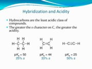 8s acids and bases