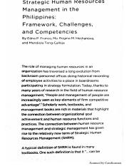 Strategic HRM in the PH - Framework, Challenges, and Competencies.pdf