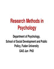 2 Research method