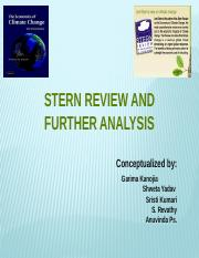 Stern Review & Further Analysis.pptx