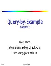 7 Query by Example.ppt