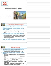 LECTURE 22 - 22_Employment_and_Wages - FINAL (CHAPTER 19)