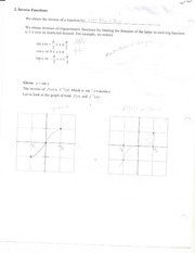 functions notes 1b