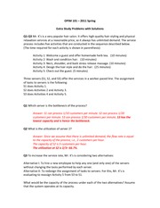 OPIM101 - Spring 2012 - Extra Study Problems with Solutions