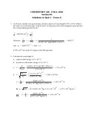 328 Quiz 1 Version 4 Solutions
