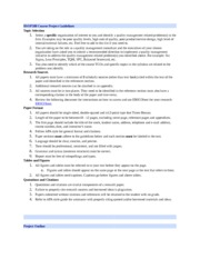 BSOP588 Final course project guidelines rubric