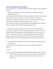 jib fowles 15 basic appeals of advertising essay