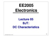EE2005-Lecture05-BJT-DC