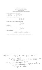 Complex Analysis Problem Paper 6 with solutions