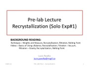 CHEM 212 - Recrystallization.pdf