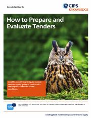 How_to_Prepare_and_Evaluate_Tenders-Knowledge_How_To
