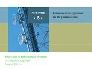ch02 Information System in Organizations
