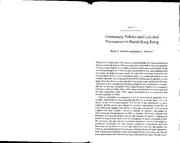 Rubie&Watson_Geomancy_Politics_Colonial_Encounters_Rural_HK