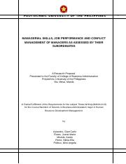 hrdm thesis title