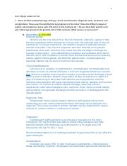Unit 3 Study Guide NU 545 and answers (Amy Williams's conflicted copy 2016-09-24) (Vivian Small's co