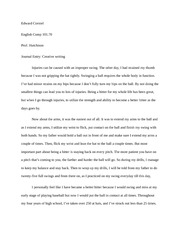 Journal Entry- Story telling notes- creative writing