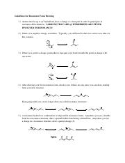 Guidelines for Resonance Form Drawing
