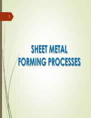 Sheet Metal Forming Processes E17(1)