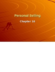 Personal Selling, Direct Mrkt  Global.ppt