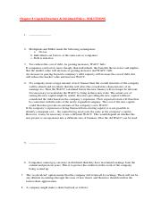SOLUTIONS to Chapter 8 Capital Structure.pdf