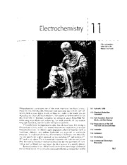 Chapter 11 - Electrochemistry