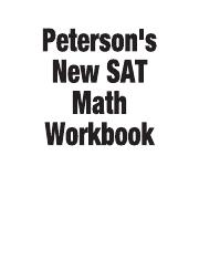 New SAT Math Workbook_peterson's(1)