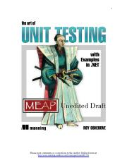Week 3 Reading -The art of unit testing (osherove meap - chapter 1).pdf