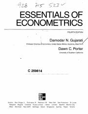 182717265 Essentials Of Econometrics Pdf Essentials Of