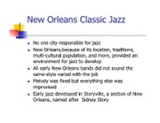 New Orleans Classic Jazz