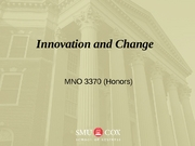 Innovation and Change_ch7_post