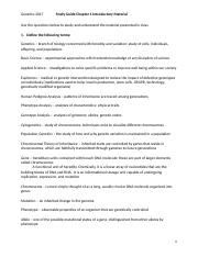 Study Guide- Chapter 1 Introductory Material.docx