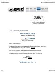 The guide to sound effects.pdf