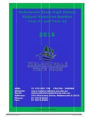 2016 Yr 11  12 Senior School Subject Selection Booklet.pdf
