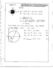 894_Mechanics Homework Mechanics of Materials Solution
