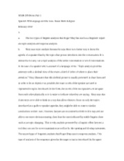 SPAN 295 Notes Part 1