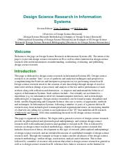 design-science-research-in-information-systems