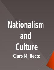 Nationalism and Culture (cherry)
