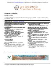 CSH-The Collagen Family.pdf