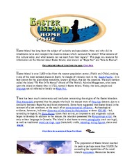 Easter Island Home Page