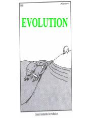 Evolution Student Notes.ppt