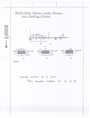 Handout No. 3 - Beams and Frames - Shear and Moment Diagrams; Qualitative Deflected Shapes(1)