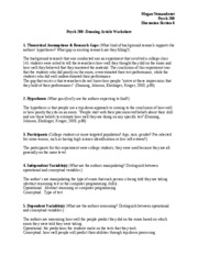 Dunning+Worksheet