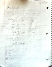 AP Calculus Continuity notes