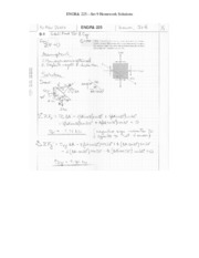 ENGR 225 Set 9 Solutions