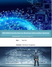 INF10003 Intoduction to Business Information Systems Assessmet 1.docx