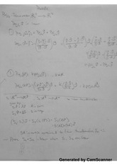 Linear Algebra - Practice Exam Proofs Notes
